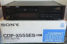 Sony CDP-X555ES CD-Player mit Zubehör OVP