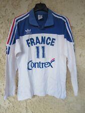 Maillot FRANCE volleyball porté par LAFITEAU n°11 ADIDAS vintage shirt maglia M