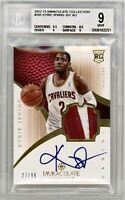 2012-13 Immaculate Kyrie Irving BGS 9 10 Auto RPA /99 Rookie Nets