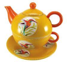 "Zauberhaft: Tea for One ""Kolibri"", 3-teiliges Set der Marke Prettea"