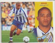 EDGAR # PORTUGAL MALAGA.CF LIGA 2003 ESTE STICKER CROMO