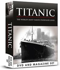 TITANIC SHOCKING TRUTH - MOST FAMOUS LINER DVD & BOOK / MAGAZINE  BOX SET