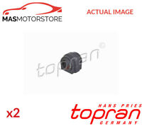 2x 501 790 TOPRAN FRONT ANTI-ROLL BAR STABILISER BUSH KIT G NEW OE REPLACEMENT