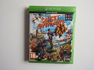 Sunset Overdrive on Xbox One in NEAR MINT Condition (Disc MINT)