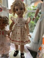 "Vintage Horsman 20"" Shirley Temple Composition Doll"