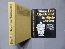 Buch, Der Alte Orient in Stichworten, Koehler & Amelang EA 1978 DDR