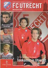 Programme / Magazine FC Utrecht Nummer 3 Februari 2011 seizoen 2010/2011