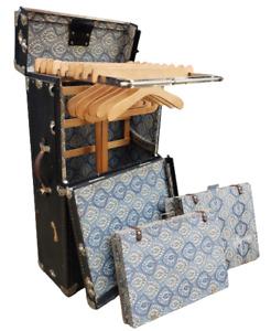 Antique Autorobe Trunk Co Royalrobe Touring Travel Steamer Wardrobe Case