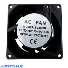 Axial Oven Fridge Freezer Cooling Fan Motor 80x80x38 mm Catreing Refrigeration