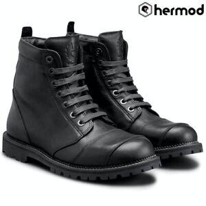 Belstaff Resolve Short Waterproof Ankle Motorcycle Boots - Black