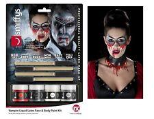 Vampiro Latex Liquido Kit Halloween Special Fx Accessorio Vestito Kit