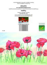Greeting cards Poppies Art
