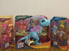 """MATTEL Cave Club Lot. Includes Tyrasaurus, Tella And Emberly.  All """"Brand New"""""""