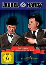 Stan LAUREL & Oliver HARDY BOX - 20 Movies incl FUNNY CARTOON DVD & and Doof