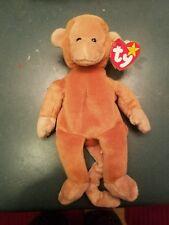 97349a7ea0c RARE Bongo the Monkey TY Beanie Baby 1995 retired