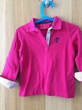 Polo rose Vicomte A taille 4ans