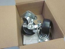 Hoffman AC4M6SV swivel caset kit with brake 210lb 59150 (2 casters per box)