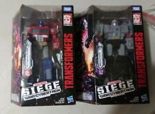 Transformers Siege Voyager Optimus Prime & Megatron (Sealed)