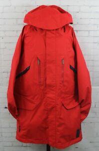 Bonfire Defiance Snowboard Shell Jacket, Men's Large, Flame Red New