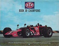 1971 STP BOOK OF CHAMPIONS /CALENDAR (MARIO ANDRETTI CV, GRANATELLI, SNOW, FOYT+