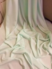 """1 MTR MINT GREEN 100% POLYESTER LINING FABRIC...45"""" WIDE"""