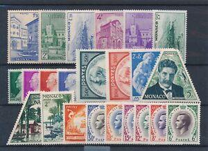 [30859] Monaco Good lot Very Fine MNH stamps