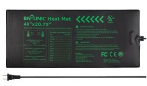 "BN-LINK Durable Seedling Heat Mat Warm Hydroponic WaterProof 48""x20.75"" for Seed"