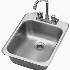 "Drop In Sink - (1) 10""Wx14""Dx10 34;H Bowl"