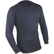 Abbiglimento sportivo da uomo blu manica lunga in poliestere