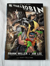All-Star Batman and Robin, the Boy Wonder-Hardcover-DC Comics-miller-Lee
