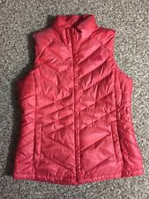 The North Face Women's Vest Pink 550 Goose Down Puffer Aconcagua Large