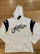 Nike Football Hoodie w/City Name Los Angeles Sz M BNwT BQ1655-100 White