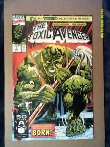 TOXIC AVENGER 1 (1st PETER DINKLAGE) MARVEL COMICS 1991
