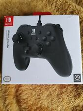 Nintendo Switch Black Wired Controller NEW