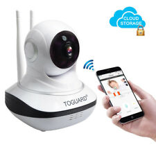 TOGUARD IP Camera Cloud Storage WiFi Nanny Security Cam Pan/Tilt Night Vision AU