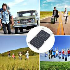Solar Charger 10W Ultra Thin Silicon Solar Panel USB Outdoor Activities I2A8