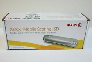 Xerox Mobile Color Scanner SD, 300 dpi Sheetfed, New & Factory Sealed