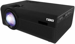 Naxa Electronics Home Theater 720P LCD Projector with Bluetooth,150-inch, Black