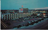 "Boise ID  ""The Downtowner Motel"" Postcard  Idaho        * FREE U.S. SHIP"