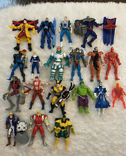 "Marvel Action Figures Toybiz 5"" Lot Of 19"