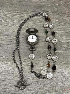 Peyote Bird Sparkle Watch Necklace