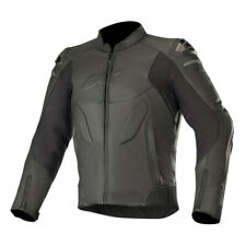 Alpinestars Caliber Thermal Motorcycle Motorbike Leather Jacket - Black