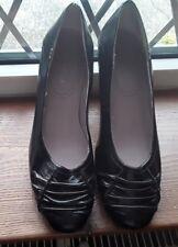 Gorgeous Black Leather shoes NINE WEST size 7W