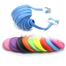 CABLE CHARGEUR USB PLAT POUR IPHONE 4 4S 3 3S iPAD iPOD TOUCH2 SYNCHRO LIGHTNING