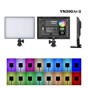 YONGNUO YN300AIR II RGB LED Camera Video Light 3200K 5600K Bi-color for Video