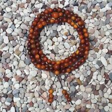 108 Beads Red Agathis Buddism Prayer Beads King of Wood 8 MM Raja Kayu