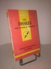 Les fossiles par É. Basse de Ménorval Que-sais-je ? n° 668