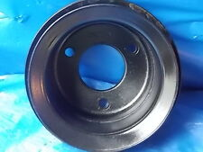 1965 1966 Ford Mustang Fairlane 289 3 Groove Crank Pulley W/AC & P/S