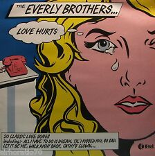 The EVERLY BROTHERS Love Hurts U.K  LP 20 Classic Love Songs