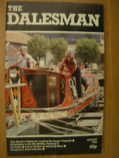 VINTAGE THE DALESMAN MAGAZINE AUGUST 1986 LEEDS AND LIVERPOOL CANAL IN LEEDS